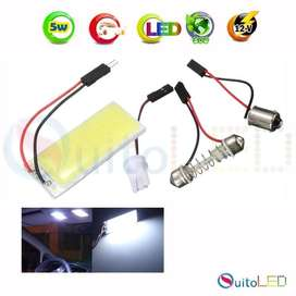 Luz De Salon Led Panel Placa Led Para Interior Del Auto 3w