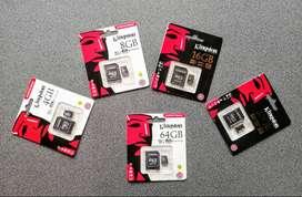 Memorias Micro SD Kingston con adaptador para PC