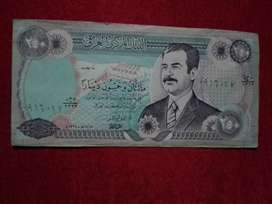 BILLETE DE IRAQ