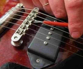 Arreglo Y Calibración de Guitarra Y bajo