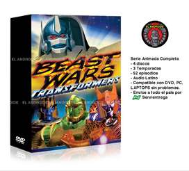 Guerra de Bestias Transformers Serie Completa