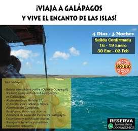 TOUR A GALÁPAGOS 30 ENERO