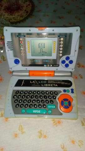 Mini laptop educativa