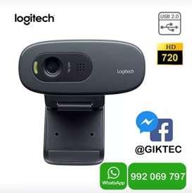 Logitech C270  Webcam Cámara Web