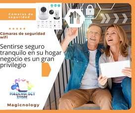 Gran promoción cámara de seguridad wifi ideal para tu negocio local  empresa y hogar buen soporte tecnico