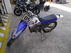 DT lista para motocross