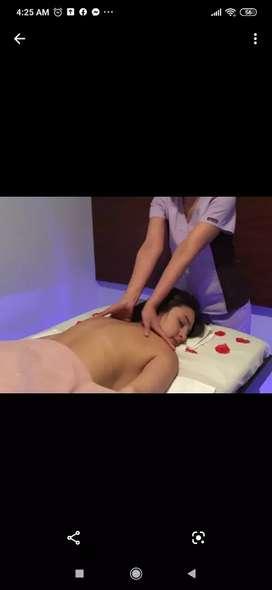 Masajes relajantes y terapia física
