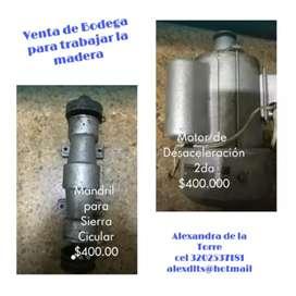 Venta de herramientas para Madera
