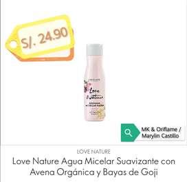Agua Micelar c/avena ORIFLAME