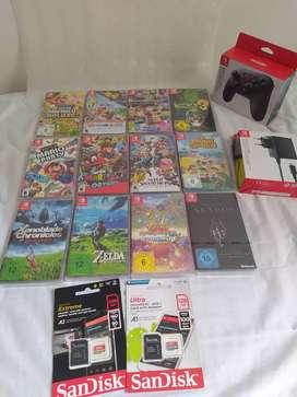 Nintendo Switch games nuevos