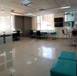 ReNtA moderna oficina amoblada - Rep de El Savador - Carolina
