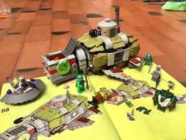 Lego tortuga submarina persecucion
