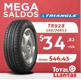 LLANTAS 165/70R13 TRIANGLE TR928
