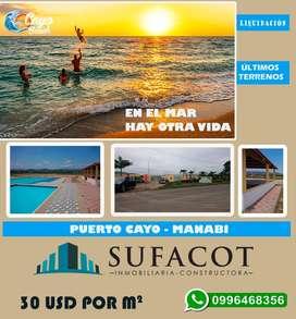 Terrenos de venta a dos horas y media de Guayaquil Credito Directo  | SD2