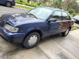 Toyota Tercel 1998, Mecanico, Gasolina, Aire acondicionado