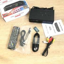 OFERTA!! NUEVO Decodificador TDT Receptor FULL HD Con Puerto USB + Antena + Cable HDMI + Control + Cable Rca + Manual