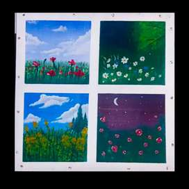 Pintura para decoración
