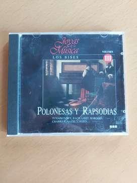 CD joyas de la música los bises volumen 3 polonesas y rapsod