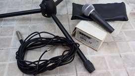 Microfono shure SM48 ,pie y cable
