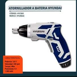 Atornillador a Bateria Hyundai