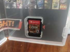 Vendo juego the legend of Zelda breath of the wild