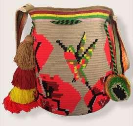 """Mochila Wayuu """"Chünü'ü"""""""