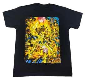 Camiseta caballeros del zodiaco Saori, Anime comics