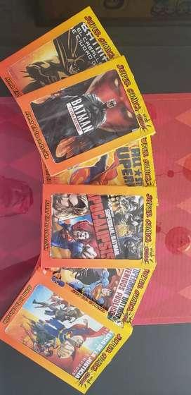 Venta colección videos DC Comics