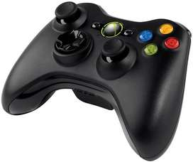 Control inalambrico con pilas Xbox 360 Negro