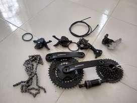 De venden Repuestos de bicicleta Shimano altus