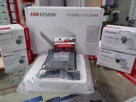 Llévate Este Kit 4 Cámaras Hd Hikvision