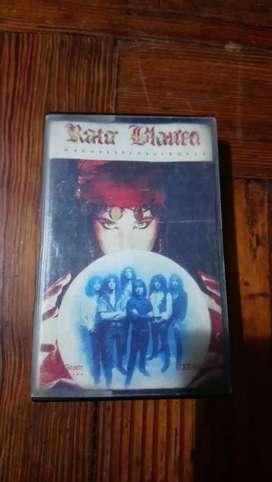 Cassette Rata Blanca Magos Espadas Y Rosas
