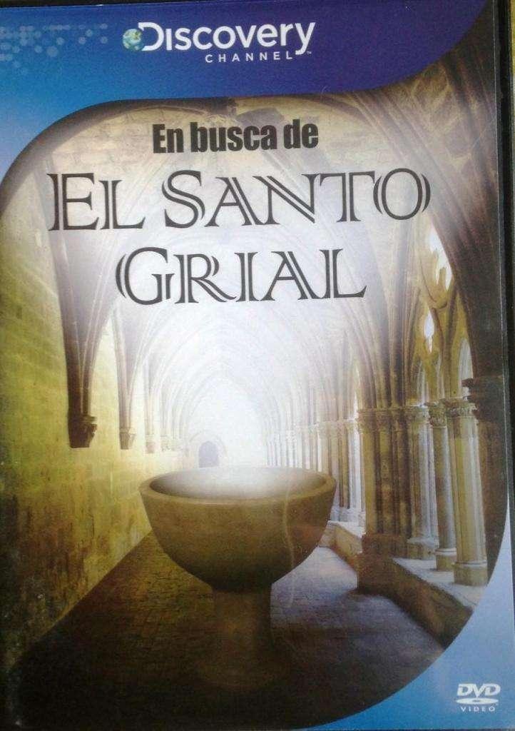 Dvd - En Busca De El Santo Grial - Discovery Channel 0