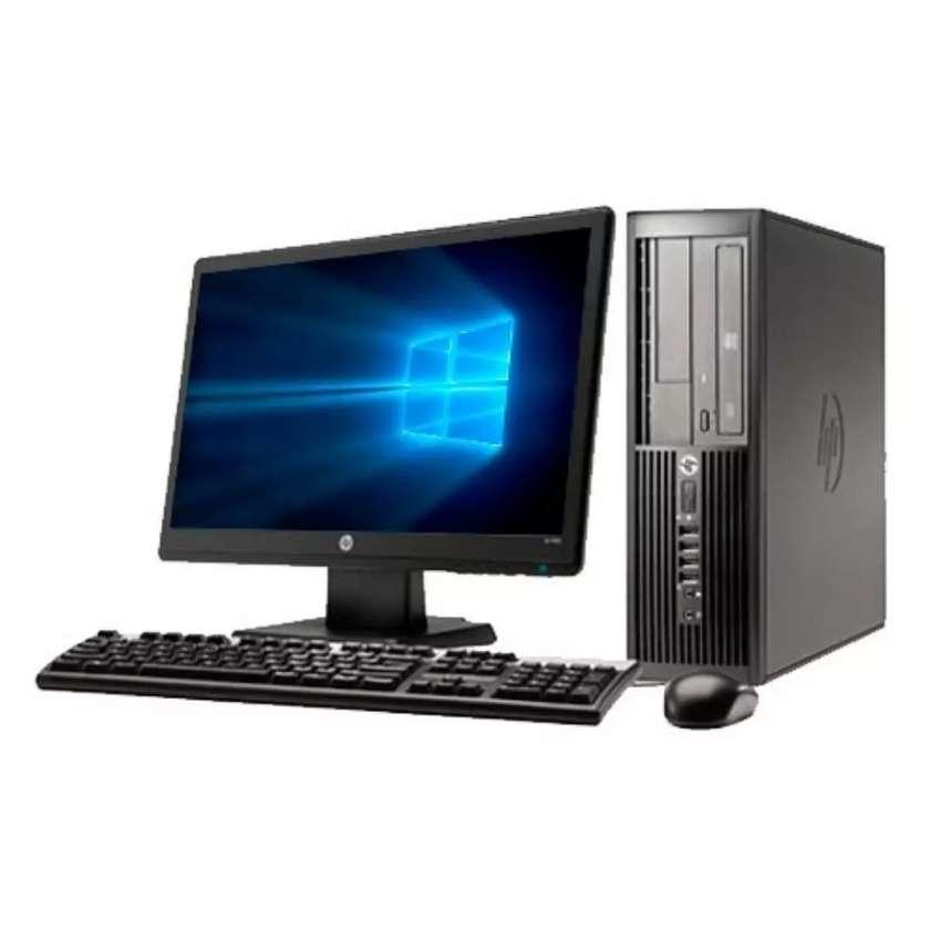 Oferta computadores hp intel core i3 con monitor 19 garantía 0