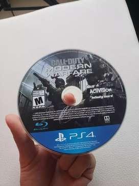 Como Nuevo Call of Duty Modern Warfare