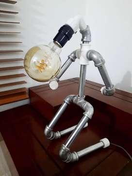 LAMPARAS EN TUBO GALVANIZADO