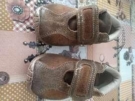 Zapatos usados gamuza