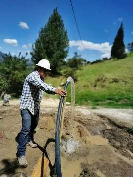 Perforacion de pozos profundos y estudios de suelos a nivel nacional, trabajos 100% garantizados