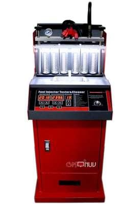 Limpiador de Inyectores Automotriz y Probador tina ultrasonica mas escaner Automotriz Launch