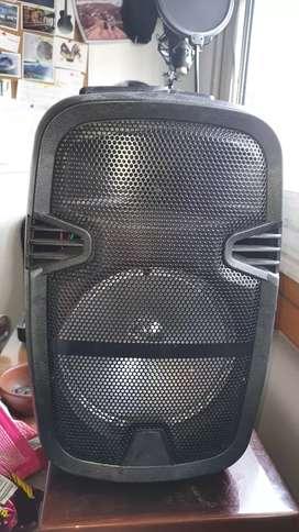 Parlante Speaker amaz 8 inch karaoke bluetooth con microfono