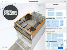 Diseños 3D modelamiento Render diseño CASAS de Interiores departamentos PILOTO
