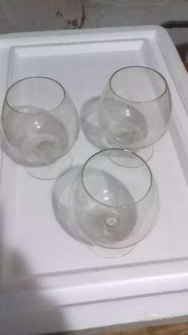 Cristal varios copas vasos