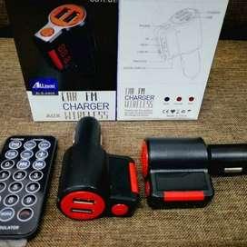 Bluetooth Car FM Charger Auxiliar Wireless / Audio Bluetooth para Vehiculo / Modulador Transmisor Micro SD