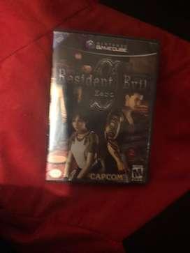 Resident evil 0 gamecube nintendo