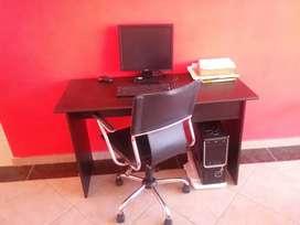 oficina escritorio y silla