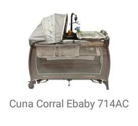 Cuna Corral Ebaby