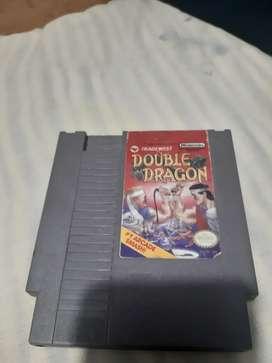 Cartucho de doble dragón. Para consola clásica nintendo nes