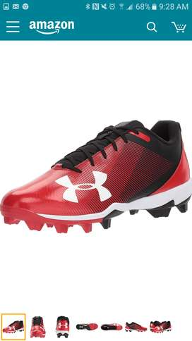 Spikes zapatillas tacos de beisbol under armour 2Y excelente estado