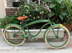 Bicicleta Huffy antigua restaurada