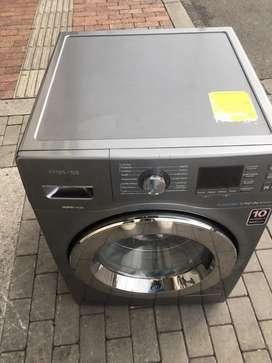 Vendo lavadora secadora samsung perfecta